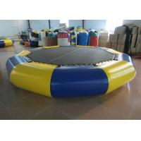 Buy cheap Customized Jumping Floating Water Trampoline , Giant Water Trampoline Dia4m from wholesalers