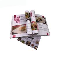 Buy cheap Food Recipe Cookbook Paper Printing Services  Customized Size OEM Service from wholesalers