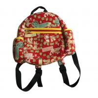 Wholesale Red Ziper Personalized Kids Backpacks , Roomy Pocket Neoprene Children School Bag from china suppliers