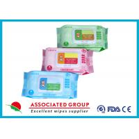 Wholesale Various Packages Baby Wet Wipes Plain Spunlace Nonwoven Bulk Alcohol Free from china suppliers