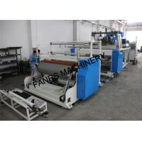 1000 mm Stretch Film Jumbo Roll Extrusion Machine With Two Screw For 2 Layer Manufactures