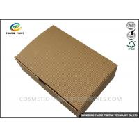 Wholesale Folding Shoes Custom Corrugated Boxes 1mm 1.5mm Rigid Cardboard Thickness from china suppliers