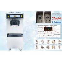 Wholesale Smart System Soft Ice Cream Vending Machine , 38-55 Liters/Hour , Low Noisy , Full Stainless Steel 304 Shell from china suppliers