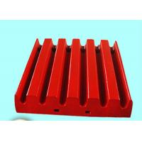 Buy cheap Metso Crusher Spare Parts Jaw Plate C125 , Customized Ore Mining Fixed Jaw Plate from wholesalers
