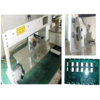 Pcb Separator Machine For Cutting Metal Board, Manual Pcb Depaneling Equipment With Conveyor Manufactures