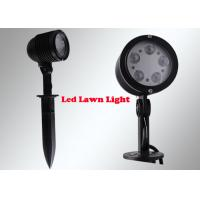 5W LED Garden Flood Lights , Outdoor Garden Spotlights With Spike Base Manufactures