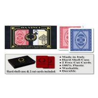 Buy cheap 100% Plastic Da Vinci Route Marked Playing Cards For Poker Cheat Bridge Size from wholesalers