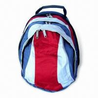 Buy cheap Backpack Purse with Double Main Zipper, Measures 30 x 40 x 10cm from wholesalers