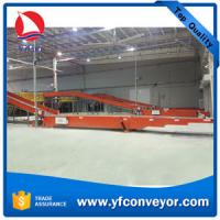 Buy cheap 40ft Container Loading Unloading Telescopic Belt Conveyor with Hydraulic Lift from wholesalers