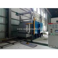Buy cheap Tilting Trolley Type Bogie Hearth Furnace Efficient For High Manganese Cast Parts from wholesalers