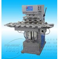 Buy cheap TY-30C4 pneumatic 4-color pad printing machine with conveyor from wholesalers