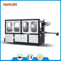 Buy cheap Automatic Plastic Lid Forming Machine 0.4 - 0.7 Mpa Pressure CE Approved from wholesalers