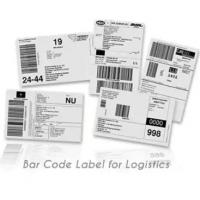 Buy cheap Anti Counterfeit Logistic Labels , Adhesive Thermal Label Sticker from wholesalers