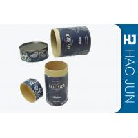 Buy cheap Cylinder Cardboard Storage Tubes Boxes Packaging For Coffee And Tea from wholesalers