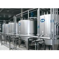 Buy cheap Dairy Fresh Pasteurized Milk Processing Line With One Year Warranty from wholesalers