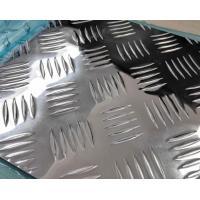 Buy cheap 5 bar Aluminum plate embossing Ribbed aluminum sheet aluminium chequer plate from wholesalers