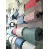 hexagon embossed 70% woodpulp 30% polyester nonwoven Manufactures