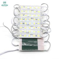 China 5050 SMD Led Module 5 leds Waterproof Light Advertising for Led Sign Warm white on sale