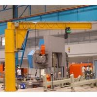 Buy cheap Ground Standing Jib Cranes, Easy to Handle, Lighten Laboring Work, Improves Work Efficiency from wholesalers