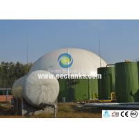 Glass-Fused-To Steel GFS Tanks / Enamel Steel Tank In Water Treatment And Engineering Sewage Manufactures
