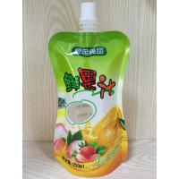 Buy cheap Spout Pouch Stand Up Clear Drink Liquid Pouch Packaging For Food Industrial product