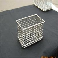 Buy cheap Laboratory stainless steel metal wire mesh baskets from wholesalers