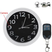 Buy cheap 5.0 Mega Pixels Full HD 1080P Video Wall Clock Remote Control Spy Camera from wholesalers