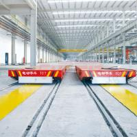 Buy cheap Painting Line Rail Transfer Cart , Four Wheels Q235 Material Transfer Carts from wholesalers
