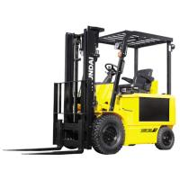 Buy cheap HB25E(07) DC Motor hydraulic Electric Forklift Truck with  pneumatic tires from wholesalers