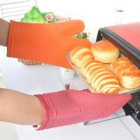 Buy cheap Fashion Pink / Orange Kitchen Oven Mitts Commercial Oven Gloves 18x31cm from wholesalers