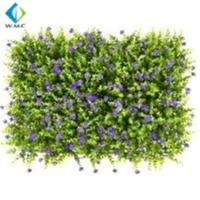 Wholesale UV Resistant Artificial Grass Wall , PE Material Artificial Fence Roll from china suppliers
