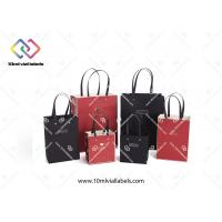 Buy cheap Multi Color Custom Paper Bag Single Color Printing With PP Rope Handles from wholesalers