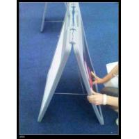Buy cheap Plastic A board Pavement Signs Plastic Sidewalk Signs from wholesalers