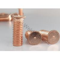 Buy cheap Flanged Drawn Arc Stud Welder Pins With Imperial Thread Or Metric Thread 0.625 from wholesalers