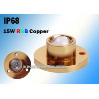 Buy cheap CREE Copper 15W RGB LED Boat Light For Yacht 3 Years Warranty from wholesalers