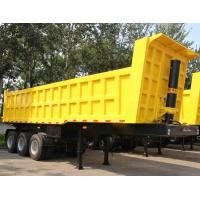 Buy cheap TITAN 3 Axle 35CBM ET U shape dump trailer / heavy duty utility trailer from wholesalers