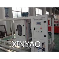 Buy cheap Plastic PE Pipe Extrusion Line / Non scrap Chip less Automatic Cutting Machine from wholesalers