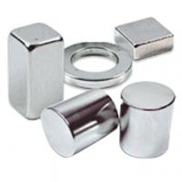 Buy cheap OEM N52 block sintered ndfeb magnetic magnet with high coercive force from wholesalers