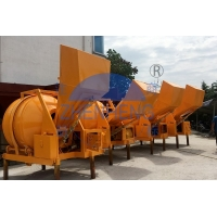 Quality Discharging 350L Concrete Mixer Machine Diesel Engine JZR350 Construction for sale