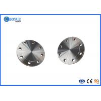 Buy cheap Incoloy 825 Raised Face Blind Flange ASTM B564 / ASME SB564 40 Bar Standard from wholesalers