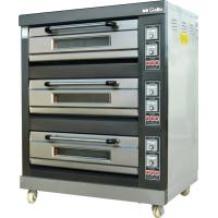Buy cheap Commercial Baking Equipment three Layer Electric Pizza Oven/Pizza Making Machine With Pizza Stone from wholesalers
