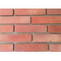 3D51-3 Clay Thin Veneer Brick Turned Color Veneer Brick With Smooth Surface Edge Damages Style Manufactures