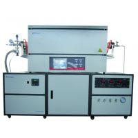 Buy cheap 1300℃ Laboratory Tube Furnace With Imported Ceramic Fiber And Resistance Wire from wholesalers