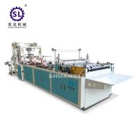 Buy cheap Slef-closing zipper bag making machine automatic polythene 12.8kw Power from wholesalers