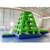 Wholesale Aqua Sports Inflatable Water Tower Floating Water Climbing Slide For Sea from china suppliers