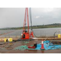 Geotechnical Water Well Drilling Machine For Borehole Core Drilling With Mud Pump