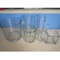 Buy cheap Transparent Glass Candle Jar from wholesalers