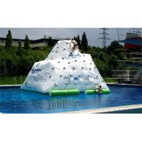 Buy cheap inflatable Water Iceberg, Inflatable Water Climbing, inflatable floating water game for aqua water park from wholesalers