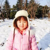 Buy cheap Sheepskin Kids Trapper Hat , Winter Baby Fur Hat Plush Style ODM Designs from wholesalers