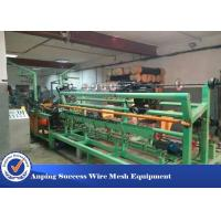 Buy cheap Multi Functional Chain Link Fence Making Machine L*W*H 6500*4500*2500mm from wholesalers